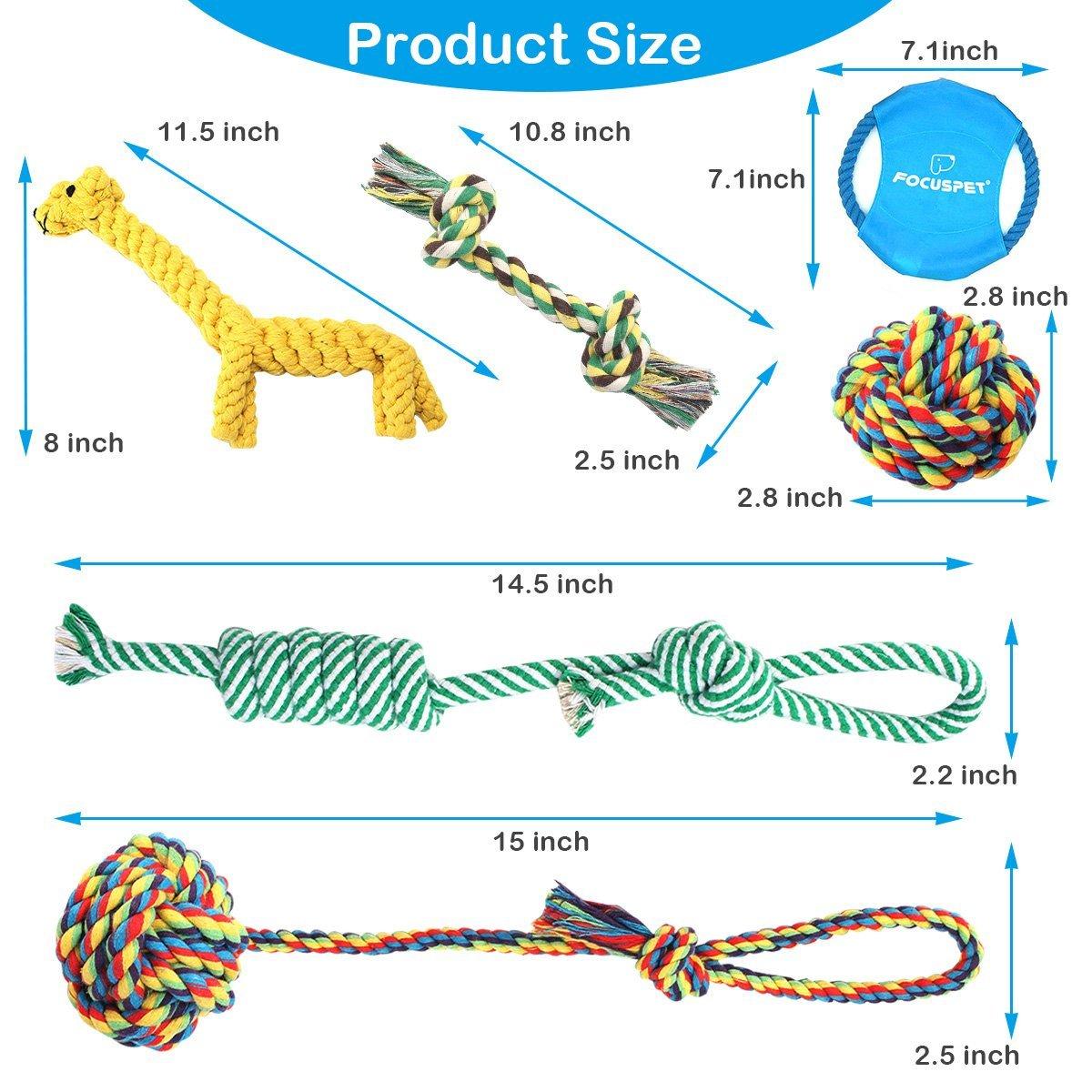 Focuspet Rope Toy Set