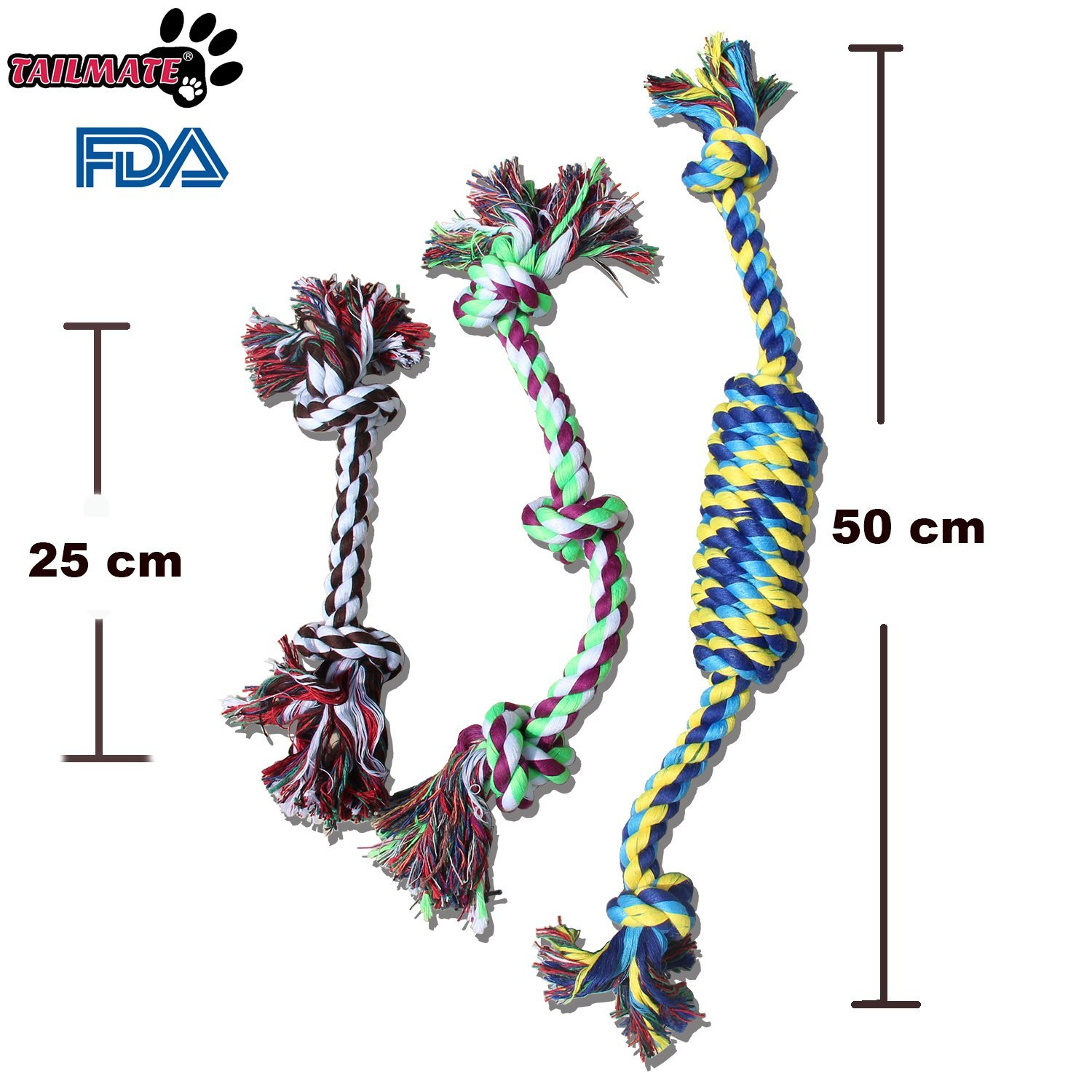 Tailgate Dog Rope Toys