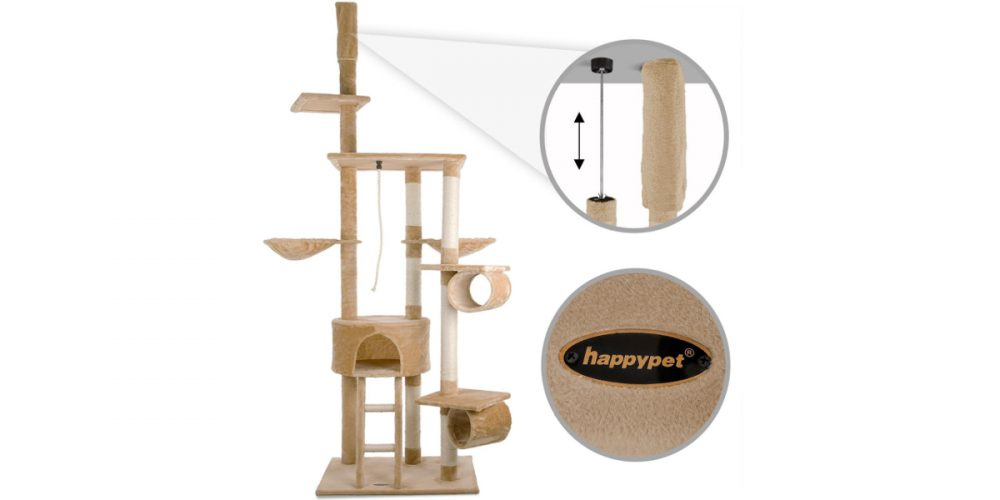 Review: Happypet Cat Tree Activity Centre