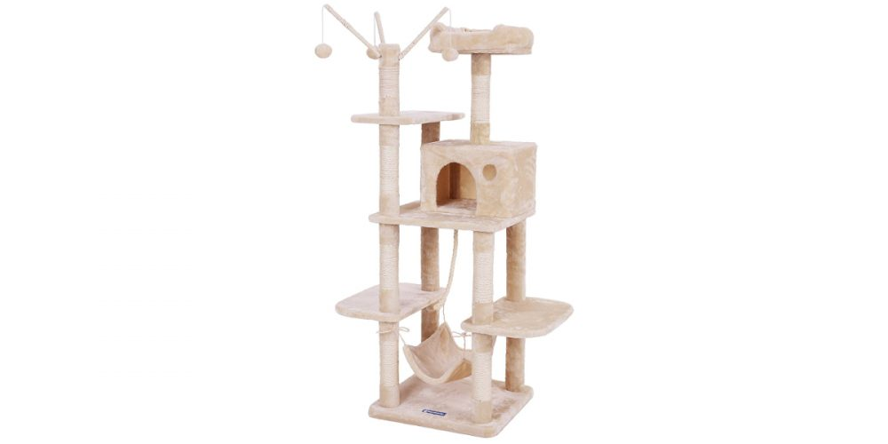 Review: Songmics Cat Tree with Hammock