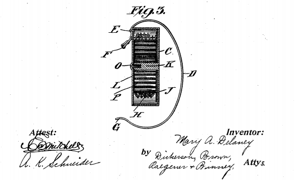 Extendable Lead Patent